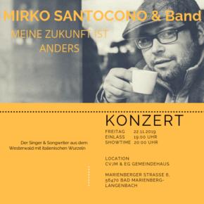Konzert mit Mirko Santocono