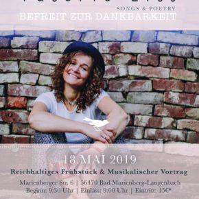 Frauenfrühstück mit Valerie Lill am 18. Mai 2019