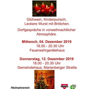 Langenbacher Adventskalender 2019