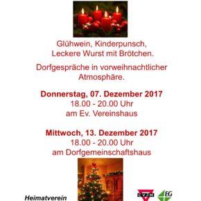 Herzliche Einladung zum Adventsfenster in Langenbach