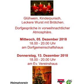 Einladung zum Langenbacher Adventsfenster