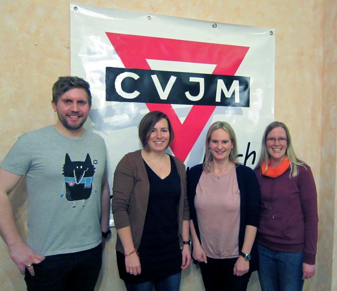 Von links: Sebastian Tropp, Iris Dreßler, Andrea Dreßler, Sarah Haas