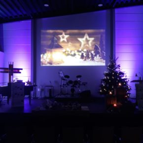 Gesegnete Weihnachten und einen guten Start ins neue Jahr
