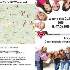 Herzliche Einladung zur Woche des CVJM 2016